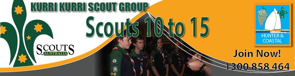Kurri Scouts receive badges